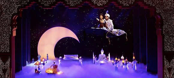 aladdin musical paramount theater seattle