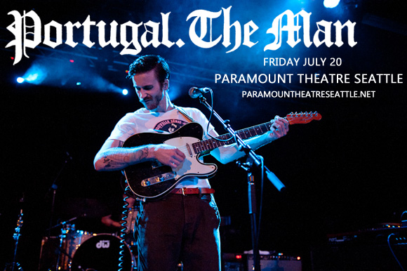 Portugal The Man at Paramount Theatre Seattle