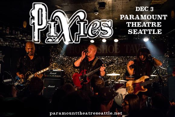 Pixies at Paramount Theatre Seattle