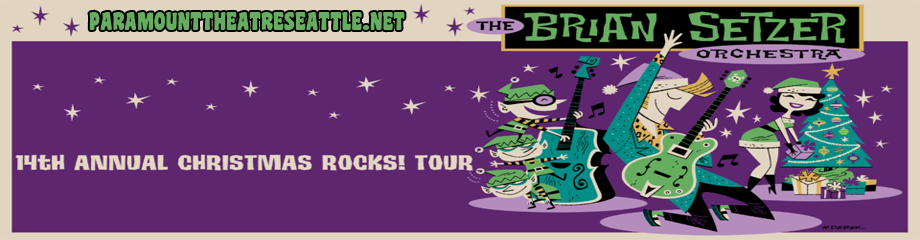 Brian Setzer Orchestra at Paramount Theatre Seattle