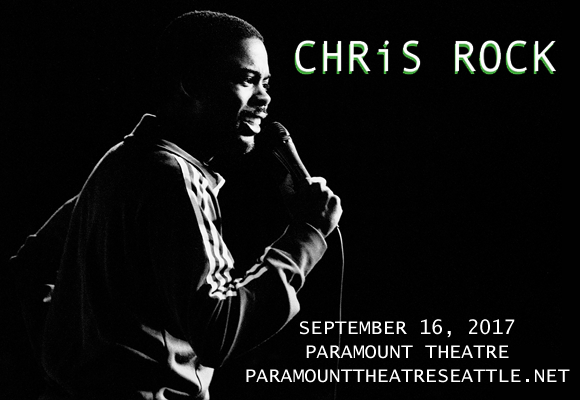 Chris Rock at Paramount Theatre Seattle