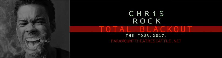 Chris Rock at Paramount Theatre Seattle