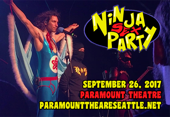 Ninja Sex Party at Paramount Theatre Seattle