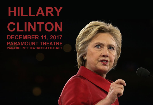 Hillary Clinton at Paramount Theatre Seattle