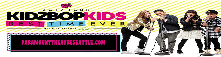 Kidz Bop Kids at Paramount Theatre Seattle