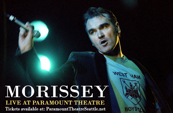 Morrissey at Paramount Theatre Seattle