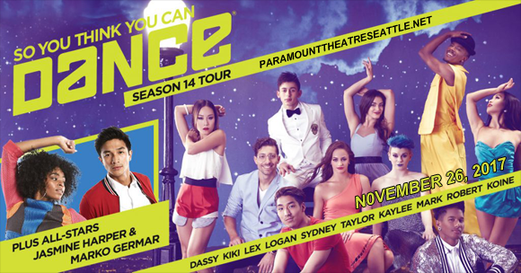 So You Think You Can Dance? at Paramount Theatre Seattle