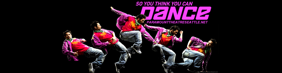 So You Think You Can Dance Tour Seattle