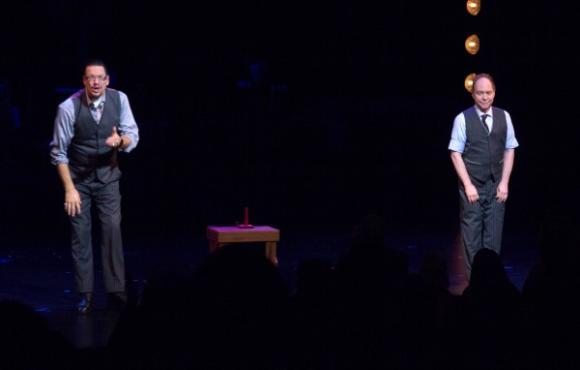 Penn & Teller at Paramount Theatre Seattle