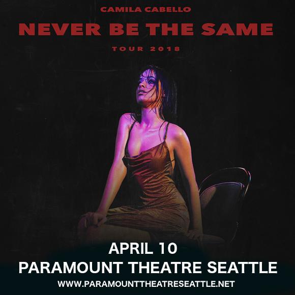 Camila Cabello at Paramount Theatre Seattle