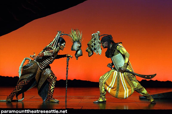 lion king get tickets paramount theater seattle broadway