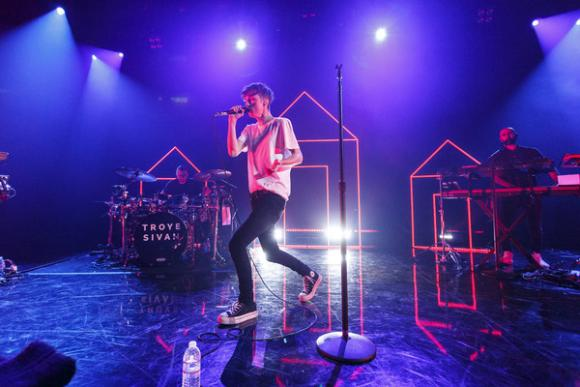 Troye Sivan at Paramount Theatre Seattle