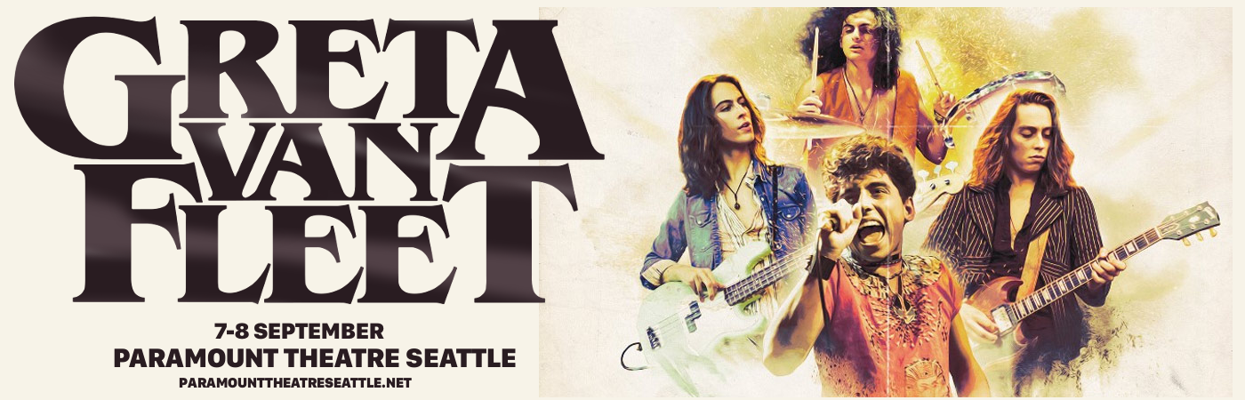 Greta Van Fleet at Paramount Theatre Seattle