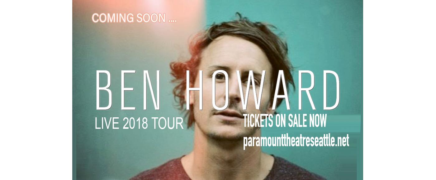 Ben Howard at Paramount Theatre Seattle