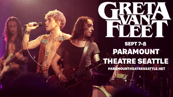 Greta Van Fleet at Paramount Theatre Seattle