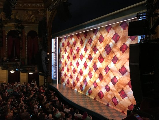 Waitress at Paramount Theatre Seattle