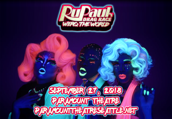 Rupauls Drag Race at Paramount Theatre Seattle