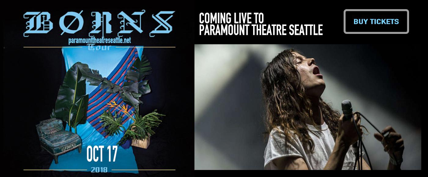 Borns at Paramount Theatre Seattle
