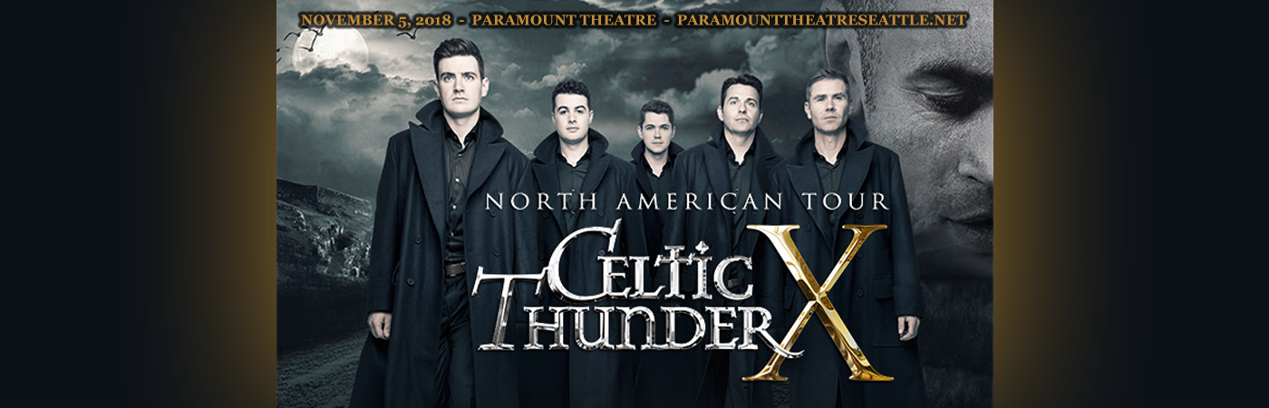 Celtic Thunder at Paramount Theatre Seattle