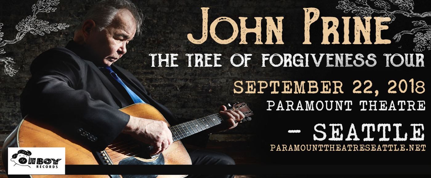 John Prine at Paramount Theatre Seattle