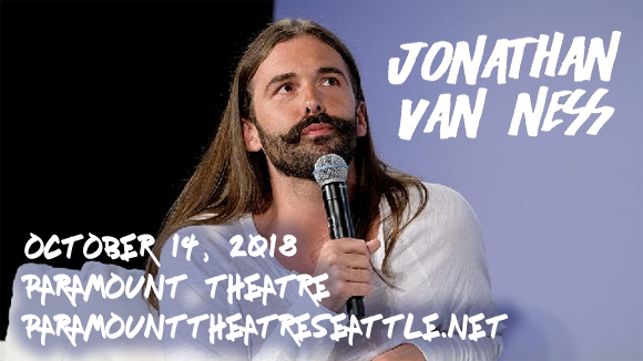 Jonathan Van Ness at Paramount Theatre Seattle