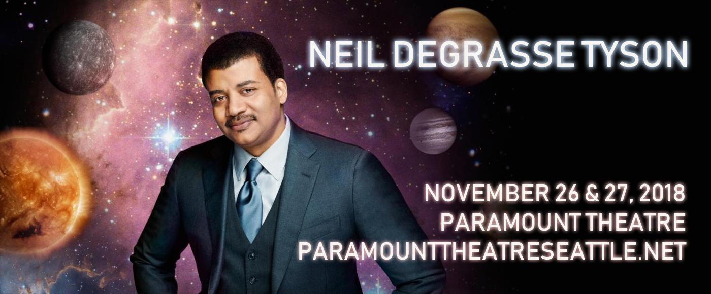 Neil deGrasse Tyson at Paramount Theatre Seattle