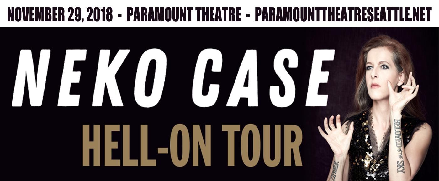 Neko Case at Paramount Theatre Seattle