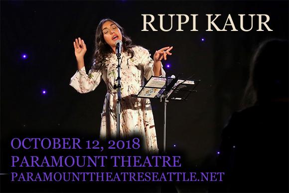 Rupi Kaur at Paramount Theatre Seattle