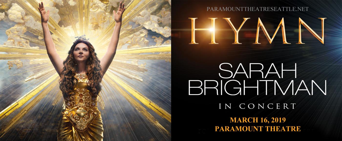 Sarah Brightman at Paramount Theatre Seattle