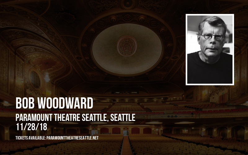 Bob Woodward at Paramount Theatre Seattle