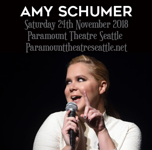 Amy Schumer at Paramount Theatre Seattle