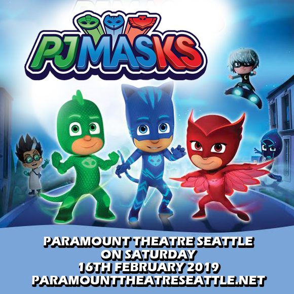 PJ Masks at Paramount Theatre Seattle