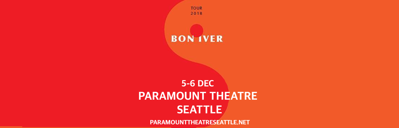 Bon Iver at Paramount Theatre Seattle