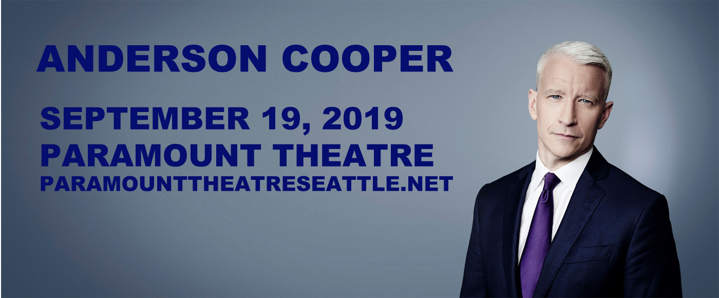 Anderson Cooper at Paramount Theatre Seattle