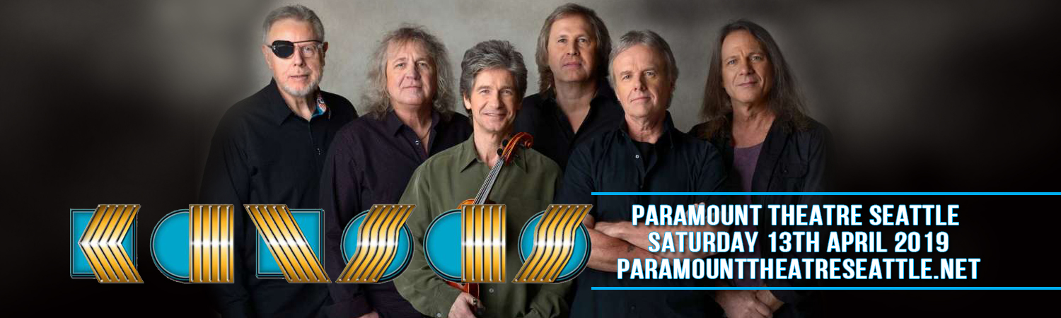 Kansas - The Band at Paramount Theatre Seattle