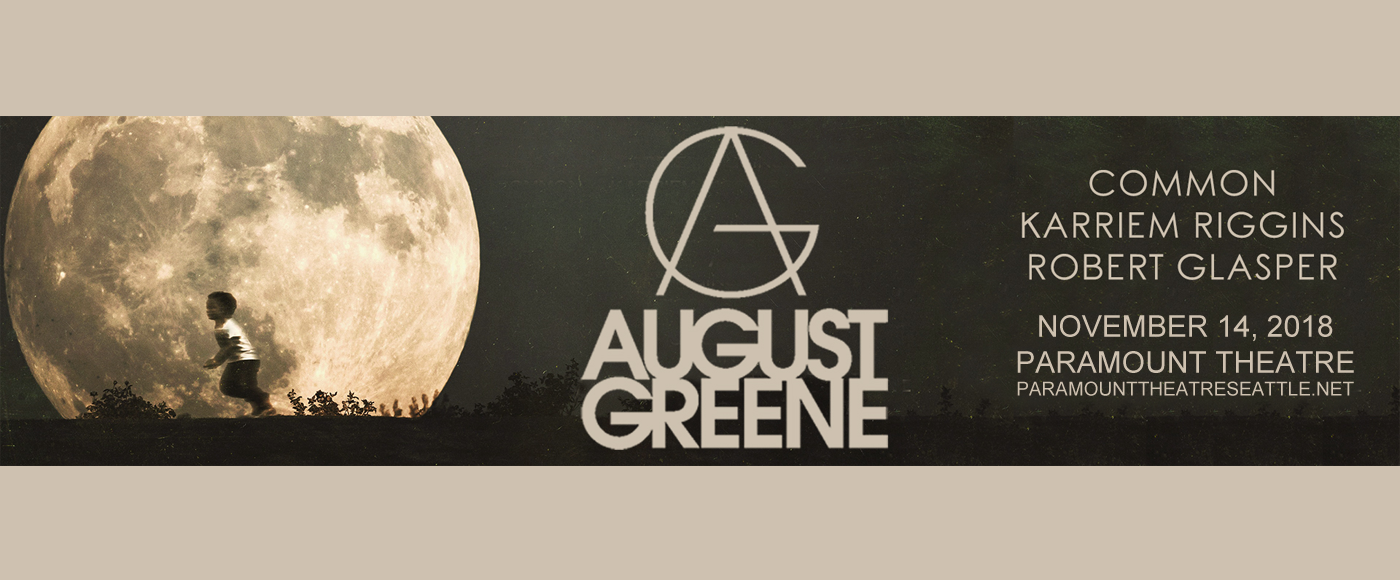 August Greene, Common, Robert Glasper & Karriem Riggins at Paramount Theatre Seattle