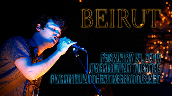 Beirut at Paramount Theatre Seattle
