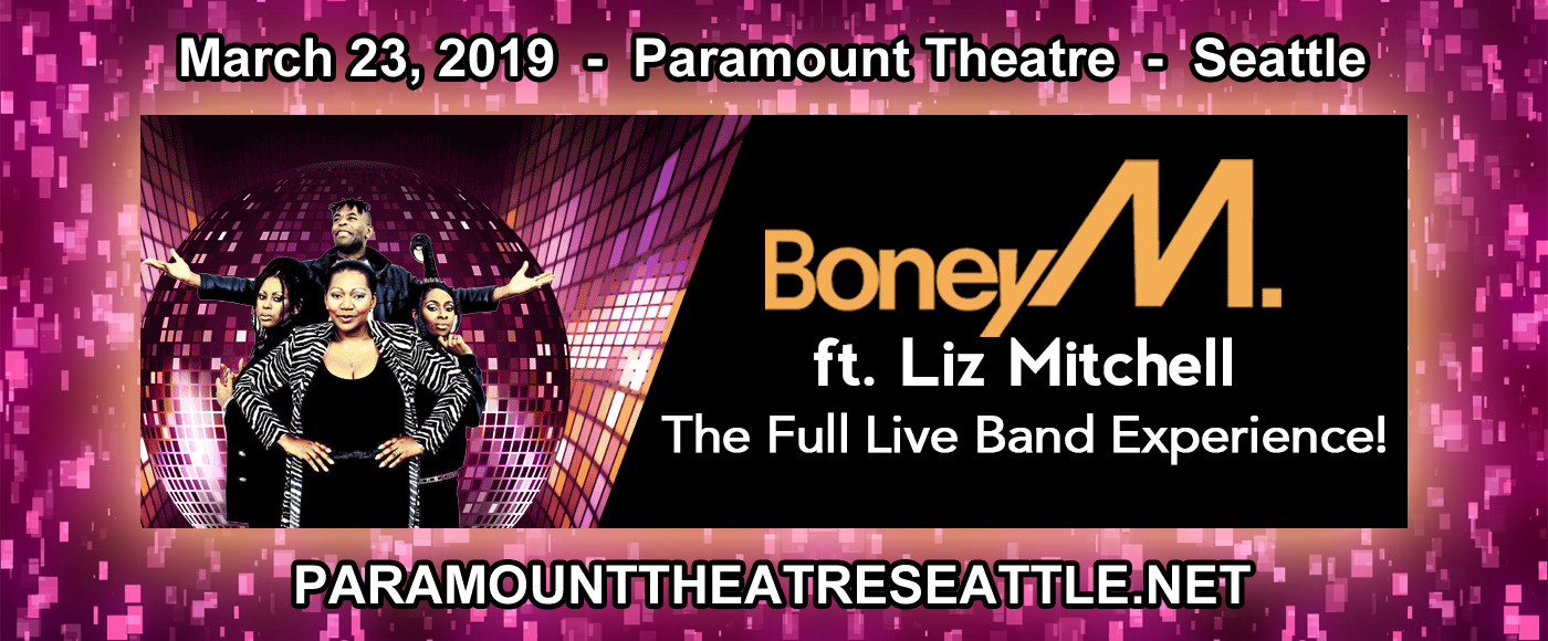 Boney M & Liz Mitchell at Paramount Theatre Seattle