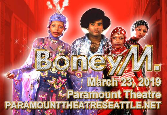 Boney M & Liz Mitchell at Paramount Theatre Seattle