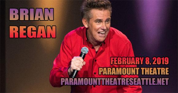 Brian Regan at Paramount Theatre Seattle