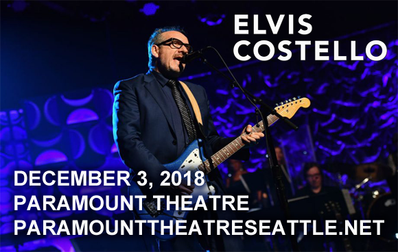 Elvis Costello at Paramount Theatre Seattle