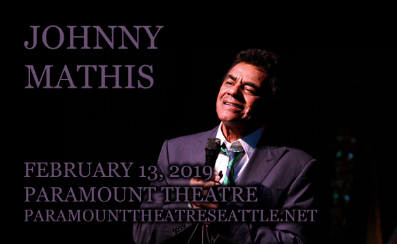 Johnny Mathis at Paramount Theatre Seattle