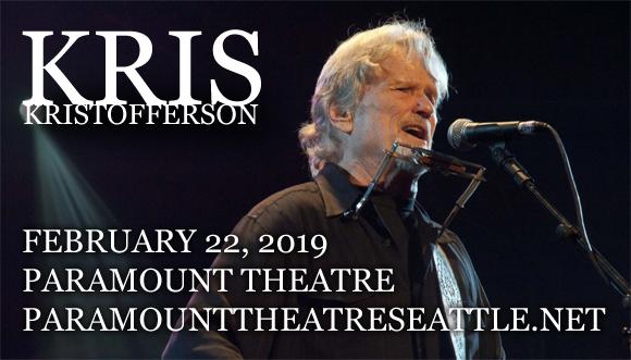 Kris Kristofferson at Paramount Theatre Seattle