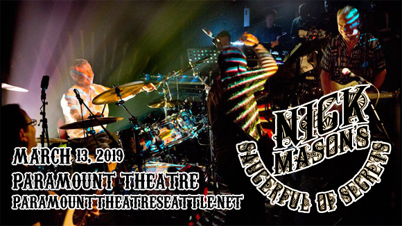 Nick Mason's Sauceful of Secrets at Paramount Theatre Seattle