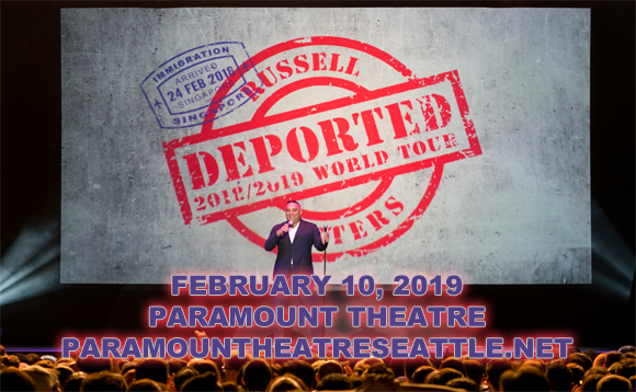 Russell Peters at Paramount Theatre Seattle