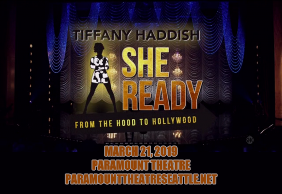 Tiffany Haddish at Paramount Theatre Seattle