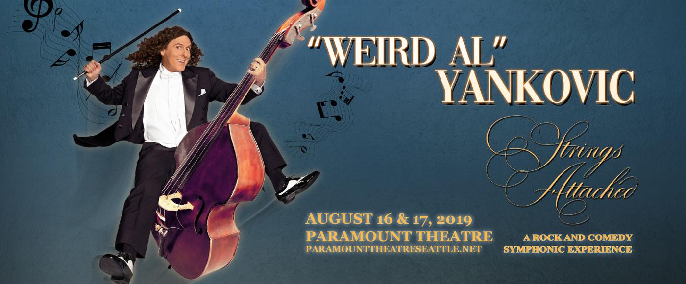 Weird Al Yankovic at Paramount Theatre Seattle