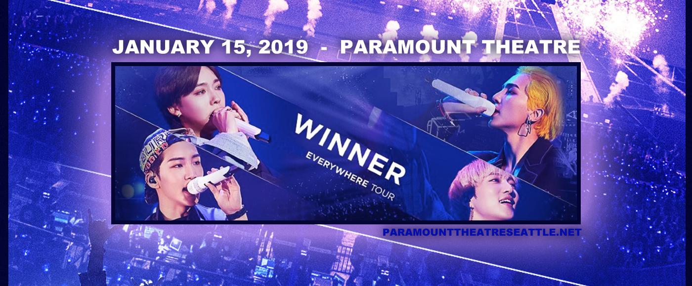 Winner at Paramount Theatre Seattle