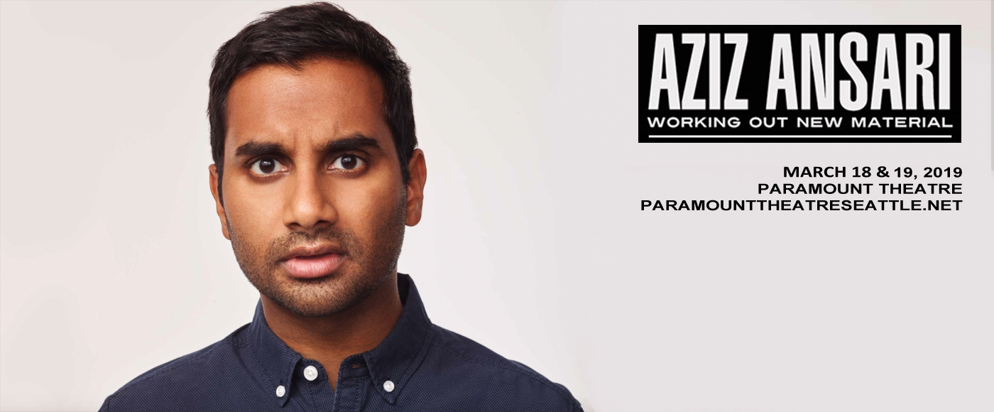 Aziz Ansari at Paramount Theatre Seattle