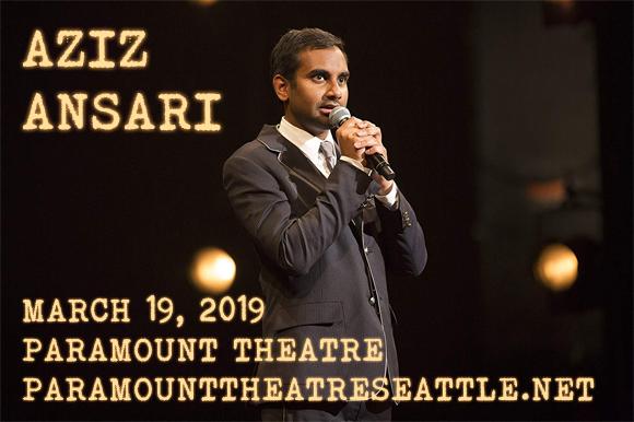 Aziz Ansari at Paramount Theatre Seattle